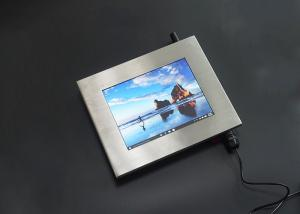 China 5 Wire Resistive Touch Stainless Steel Panel PC 1024x768 High Resolution on sale