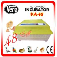 Full automatic commercial incubators for hatching eggs VA-48II make chicken egg incubator
