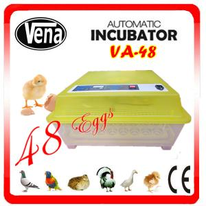 China Full automatic commercial incubators for hatching eggs VA-48II make chicken egg incubator on sale