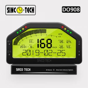 China DO908 Dashboard ABS 16V DC 6.5 Inch Race Car Gauges on sale