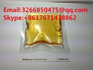 China Body Building Yellow Liquid Boldenone Undecylenate CAS 13103-34-9 on sale