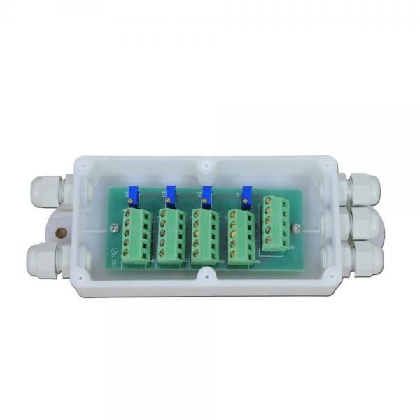 4 Way weighing sensor Load Cell Summing Junction Box Plastic ... J Box Wiring Diagram Load Cell on load cell gearbox, load cell assembly, load cell j-box, load cell interface pinout, pinout diagrams, load cell ohms,