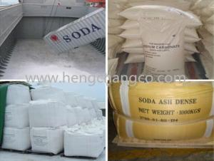 China Industrial Salt Soda Ash/Sodium carbonate on sale