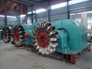 China Pelton Turbine Generator on sale