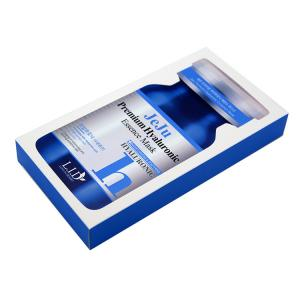 China Essence Mask 300gsm Silver Board Printed Cosmetic Boxes Logo Printed on sale