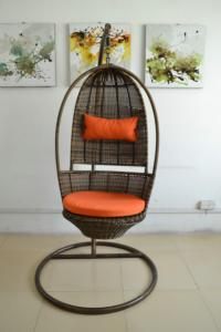 China Patio wicker swing chair--9715 on sale