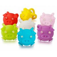 Cute Pig Shape Blinking Led Lights For Bikes Lightweight Small Size Low Power