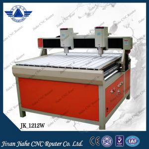 China Double spindle 1212 wood cnc machine for wood engraving, MDF, Plastic, etc. on sale