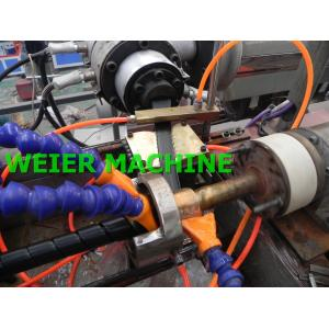 China Durable HDPE Pipe Extrusion Machine , PE Spiral Protective Tubes Making Machine on sale