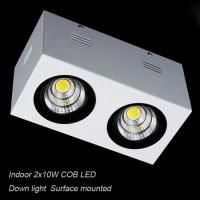 Interior IP40 contemporary 20W COB LED downlight for home Supermarket