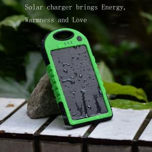 China Portable waterproof multi solar charger for mobile phone on sale