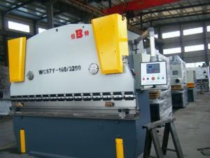 China WC67Y 1600 KN Nominal Pressure hydraulic sheet metal press brake bending machine on sale