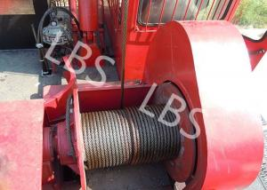 China Oil Field Downhole Operation Offshore Winch Workover Rig Winch Steel Wire Rope on sale