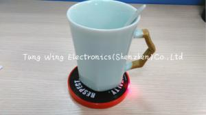 China Custom Melody Flashing Cup LED Coaster For Promotional Items And Holiday Gifts on sale