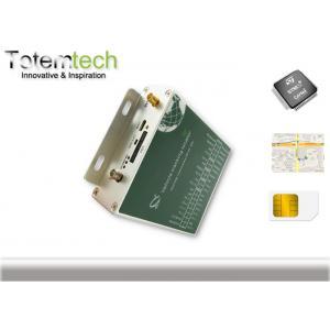 China Silver Mini U-blox 6M RFID GPS Tracking System Temperature Monitor on sale