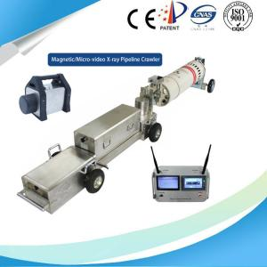 China Non Destructive Testing X Ray Pipeline Crawler For Large Diameter Pipe on sale