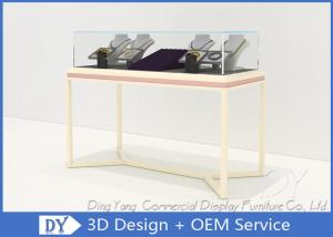 China Pre Assemble Wood Glass Jewelry Store Showcases Fixtures For Exhibition on sale