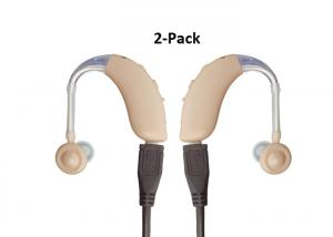 China 2 Units Rechargeable Hearing Aids In The Canal Type, Hearing Impaired Devices on sale