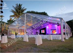China Wedding Party Marquee Clear Cover Aluminum Profile Tent Structure on Grassland on sale