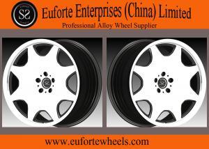 China L'alliage d'aluminium de forme de Roue-plat de Susha a forgé le visage de Black Mirror de roues largeur de 8,5 - 12 pouces on sale