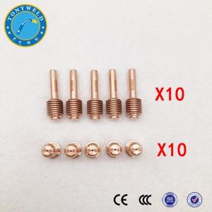 China 30A Nozzle 220480 And Electrode 220478 For Plasma Cutting Torch on sale