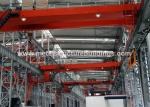 SGS Certified Steel Frame Structure Lattice Steel Tower Fire Resistant