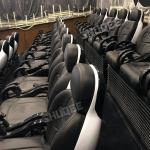 Customized Size 7D Movie Cinema Widescreen With Comfortable Black Luxury Genuine Seat