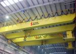 Customized Double Beam Bridge Crane 20 Ton With Overload Protection Device