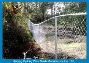 China 囲う熱い浸された電流を通されたチェーン・リンク公園のためのチェーン・リンクの鉄条網 on sale