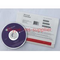 China Microsoft Windows 10 Pro Pack French / German Retail Box 32 Bit 64 Bit DVD With OEM Key on sale