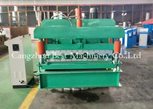 China High Perofrmance Roof Tile Roll Forming Machine Durable Electrical Motor on sale