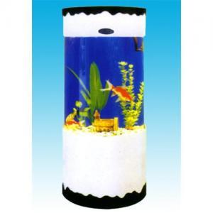 China Aquarium Tanks -  Cylindrical  Fish Aquarium on sale