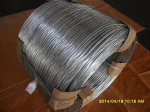 China 14# hot galvanized steel wire on sale