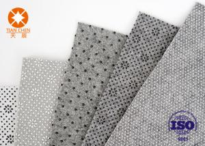 China Grey White Needle Punched Non Woven Polyester Felt For Shoes Lining Fabric Material on sale