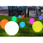 hot sales PE material IP65 waterproof color changing romantic decorative led floating  lighting ball