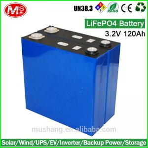 China OEM/ODM 36v 120Ah customized LiFePo4 battery pack for electric car on sale