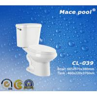 S-Trap Two-Piece Toilets Sanitary Wares for Bathroom (CL-039)