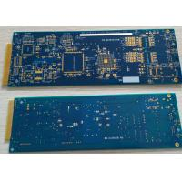 6 layers Rigid FR4 PCB with ENIG surface and hard plating gold finger 10u""