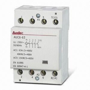 Installation Modular Contactor EN 61095 IEC Standards 24V AC 48V