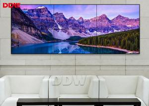 China High Resolution 55 Inch DDW LCD Video Wall Support Matrix Joint Control on sale