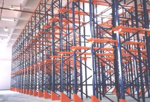 China Warehouse Pallet Racking System Low Price Cold Storage VAN Shelving on sale