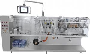 China High Speed Stand Up Pouch Filling And Sealing Machine For Sachet / Herbal Product on sale