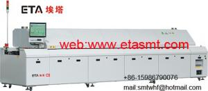 China Automatic lead-free reflow soldering oven ETA-C8 on sale
