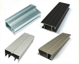 China Anodized Aluminum Window Profiles Heat Treatable For Decoration / Building on sale