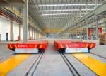High Frequency Busbar Powered Transfer Cart For Sliding Line Easy Operation