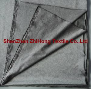 China Four way stretchable silver fiber conductive fabric for medical electrode on sale