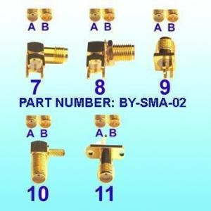 China SMA Connectors, RF Connector, SMB Connector, Fakra Connector, MMCX Connector, Cable (Connector factory) on sale