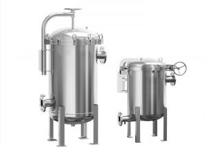 China Stainless Steel Multi Cartridge Filter Housing Design Coarse Water Treatment Equipment on sale