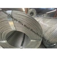 China ASTM 6X19 IWR 70 Carbon Steel Hot Dip Galvanized Steel Wire Rope on sale