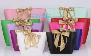 China Luxury Kraft Paper flower bag paper with handle, flower carrier bag,PaperGiftBagsCarrierParty Paper Gift Shopping Bag on sale